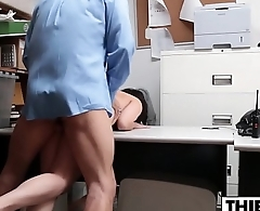 Teen Thief Takes Officers Hard Dick