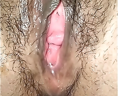 Young squirting and driping  Desi Pussy fingered nicely before fucked.