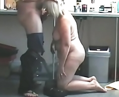 Kitchen Blowjob