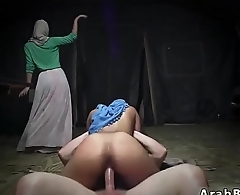 Muslim orgasm Sneaking in the Base!