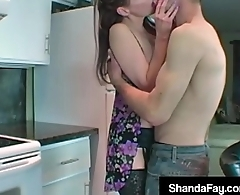 Horny Hot Housewife Shanda Fay Gets Wet Cunt Tongue Lashing!