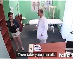 Messy doctor can'_t live without fucking a lot
