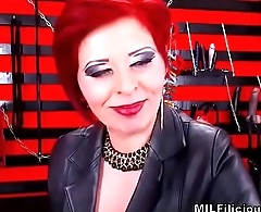 Seductive Red Head Dom Milf On Cam In Boots - MILFiliciouscams.com