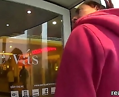 Breathtaking czech girl is teased in the supermarket and screwed in pov