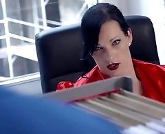 BUMS BUERO - Busty German secretary banged by her colleague in hot office sex