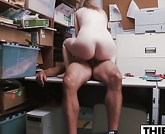 Playing With His Dick For Theft