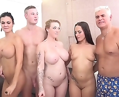 Jasmin Jae, Mea Melone and Harmony Reigns in an orgy