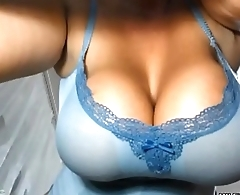 Huge tits MILF teasing on cam - MILFiliciouscams.com