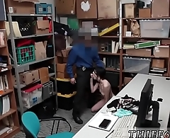 Blonde teasing cop xxx Suspect was caught red transferred by store
