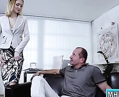 Belle Clair fucking her office mate