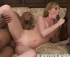 Two big black cocks are going to violate me while you watch