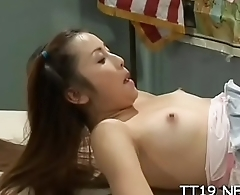 Cute playgirl enjoys hard fuck