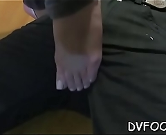 Angel foot licked and toying