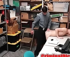 Twink Criminal Fucked bare