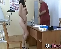 Pervert Doctor Exams Asian Teen Pussy