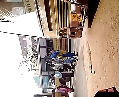 Desi sexy girl in bus with big ass and tits part 5