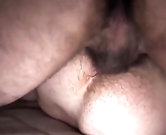 Beautiful gay Bear couple anal sex