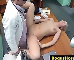 Cockloving euro pleasured by doctors prick
