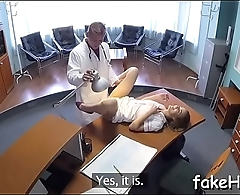 Delightsome doctor gets screwed hard