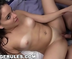 COLLEGE RULES - These Young Sorority Hoes Like To Party! Watch '_Em Go Wild