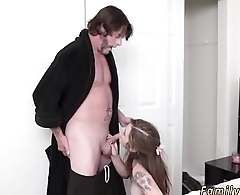 Riding step daddy first time Blake proceeds to get torn up by her new